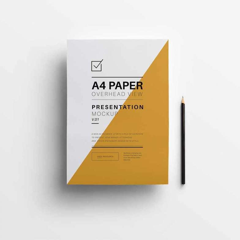 A4-paper-Overhead-view-mockup-vol-1