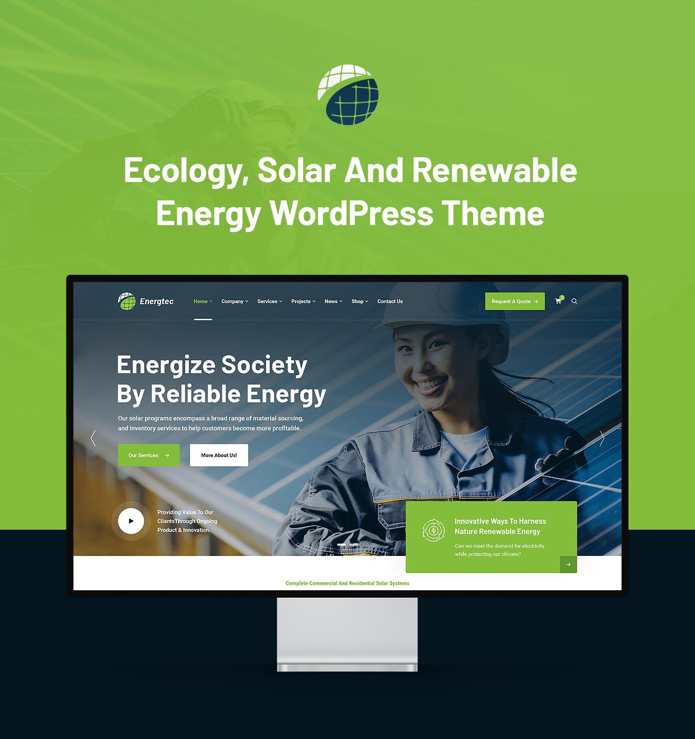 Energtec - Solar and Wind Energy WordPress Theme - 4