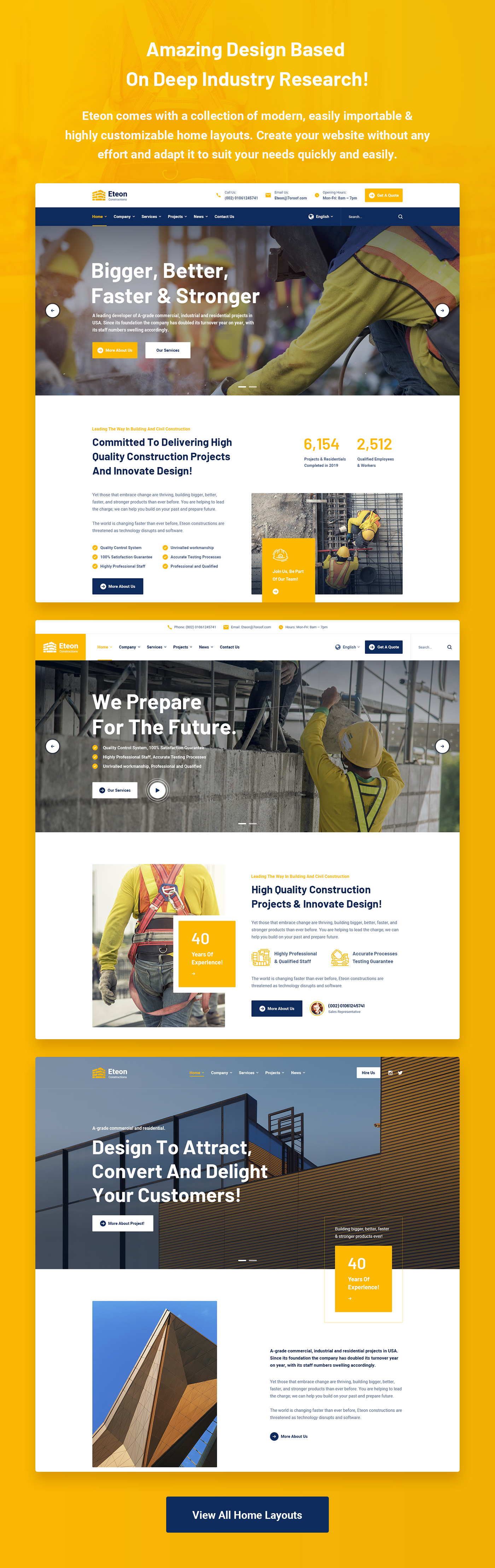 Eteon - Construction and Building HTML5 Template - 6