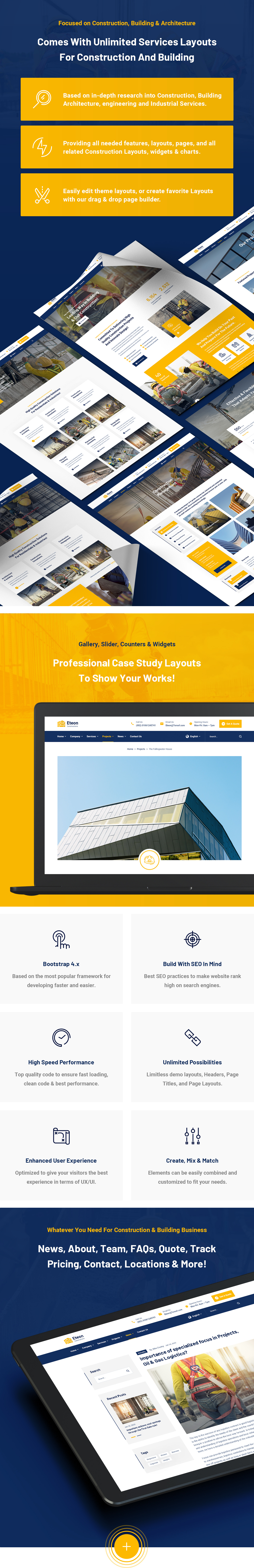 Eteon - Construction and Building HTML5 Template - 7