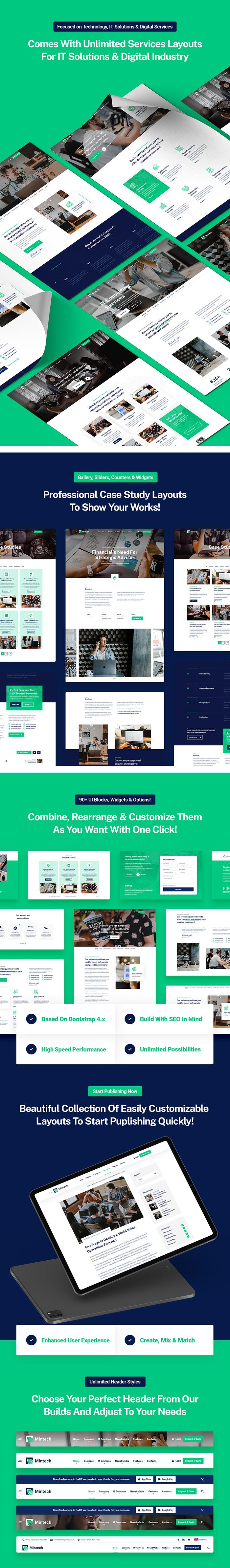 Mintech - IT Solutions & Services HTML5 Template - 6