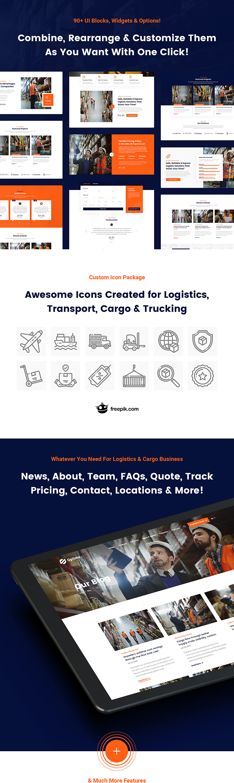 Optime - Logistics & Transportation HTML5 Template - 8