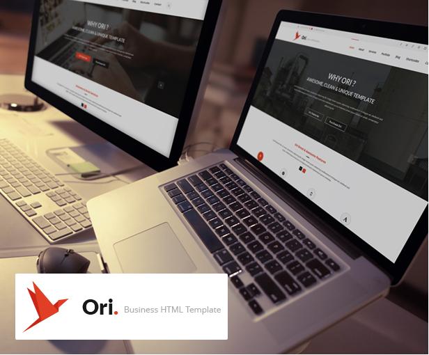 Ori – Multi-purpose Business HTML Template - 1