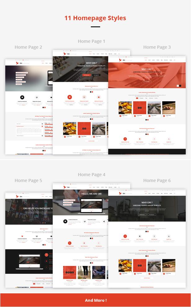 Ori – Multi-purpose Business HTML Template - 3