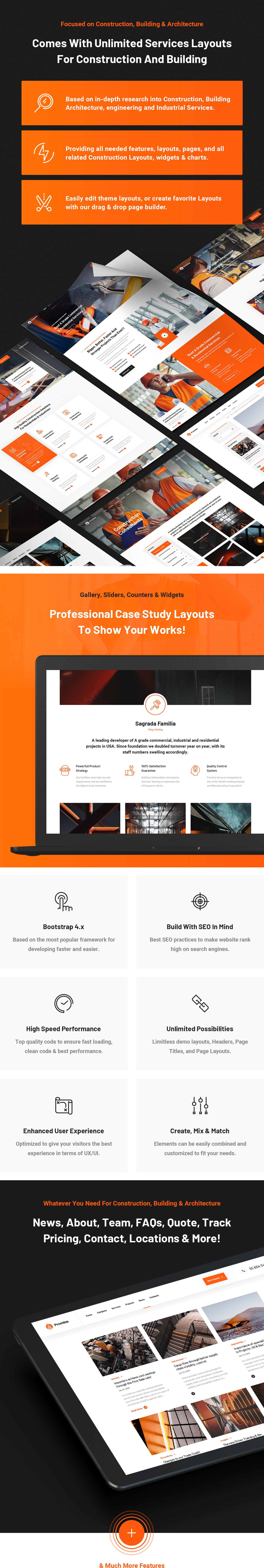Promina - Construction and Building HTML5 Template - 7