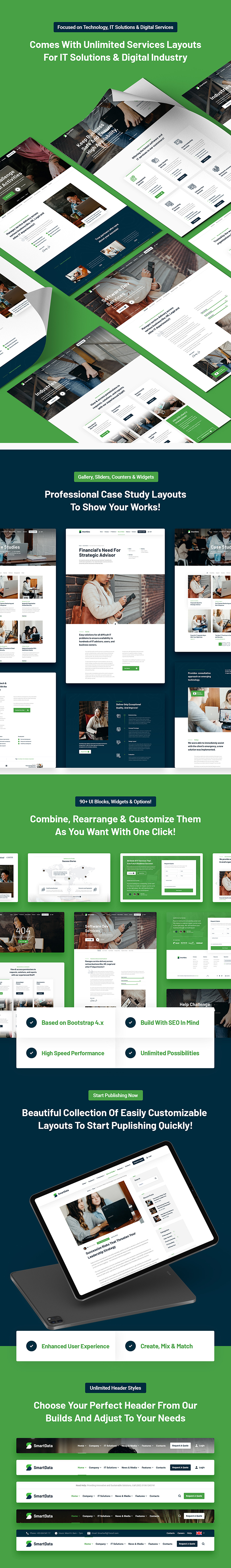 Smartdata - IT Solutions & Services HTML5 Template - 6
