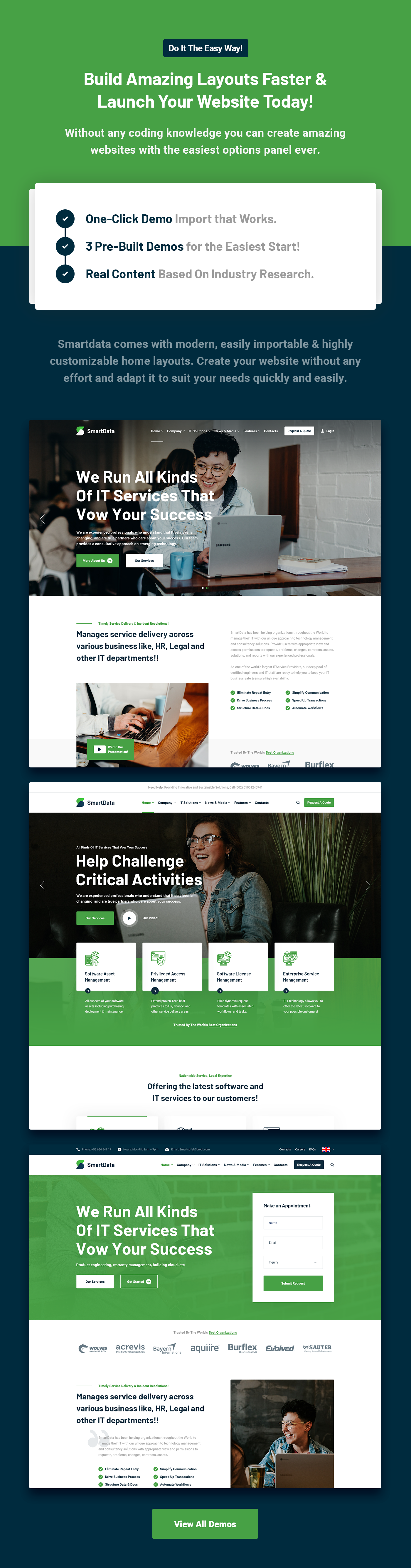 Smartdata - IT Solutions & Services WordPress Theme - 5