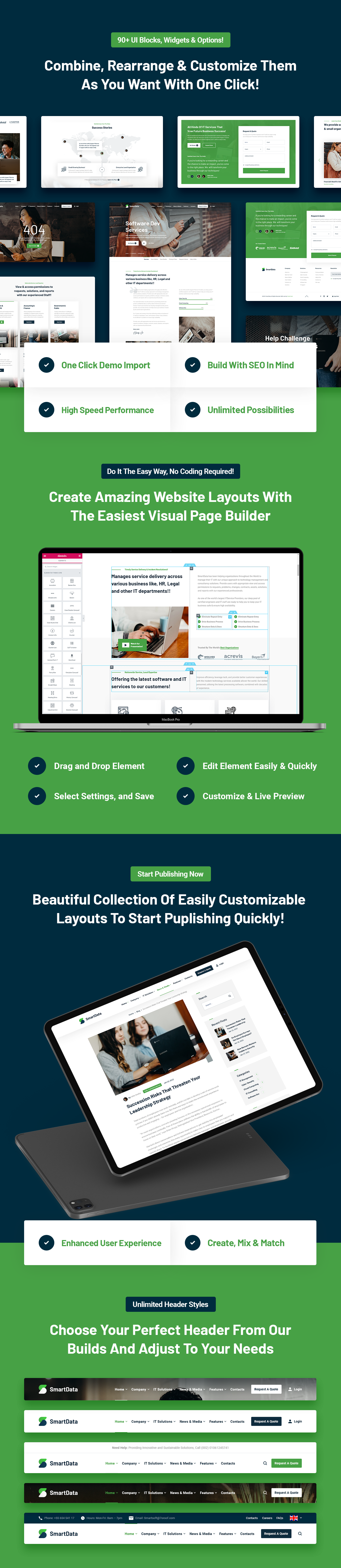Smartdata - IT Solutions & Services WordPress Theme - 7