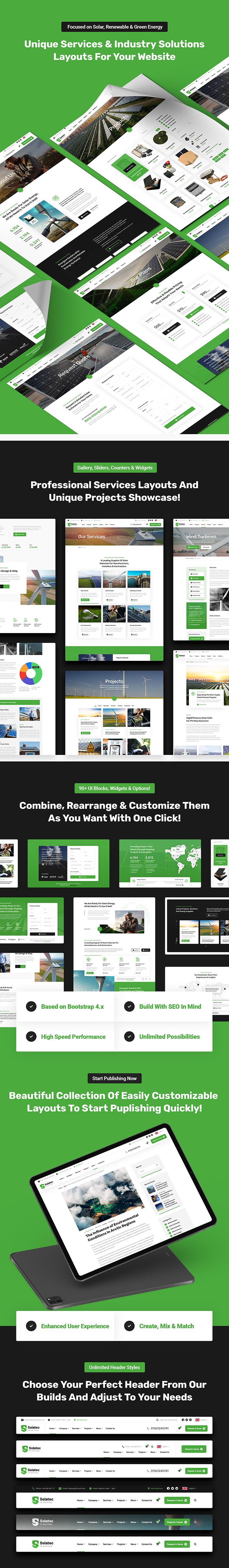 Solatec - Ecology & Solar Energy HTML5 Template - 6