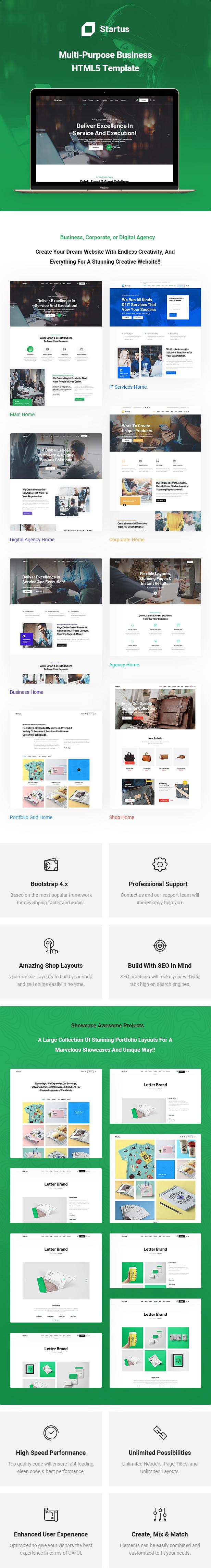 Startus - Multipurpose Business HTML5 Template - 5