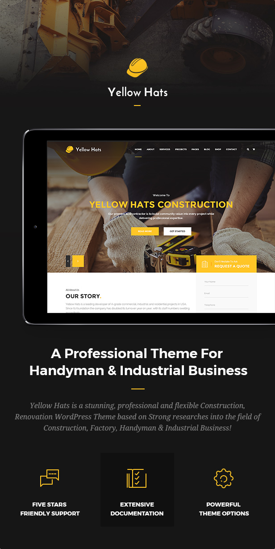 Yellow Hats - Construction, Building & Renovation Theme - 4