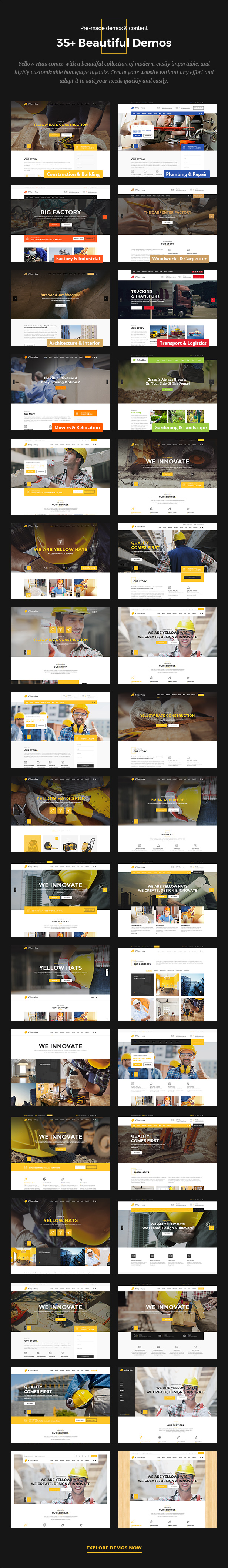 Yellow Hats - Construction, Building & Renovation Theme - 5
