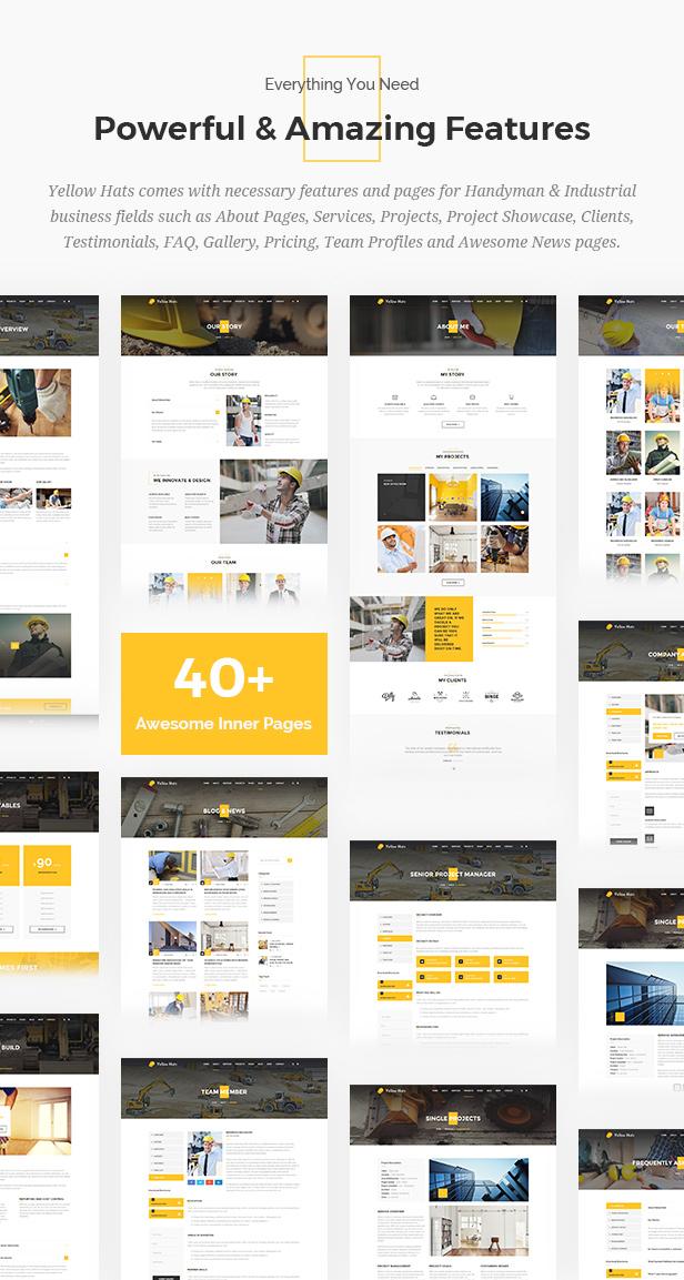 Yellow Hats - Construction, Building & Renovation Theme - 12
