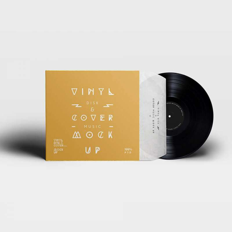 Vinyl-Record-and-Cover-Presentation-Mock-up