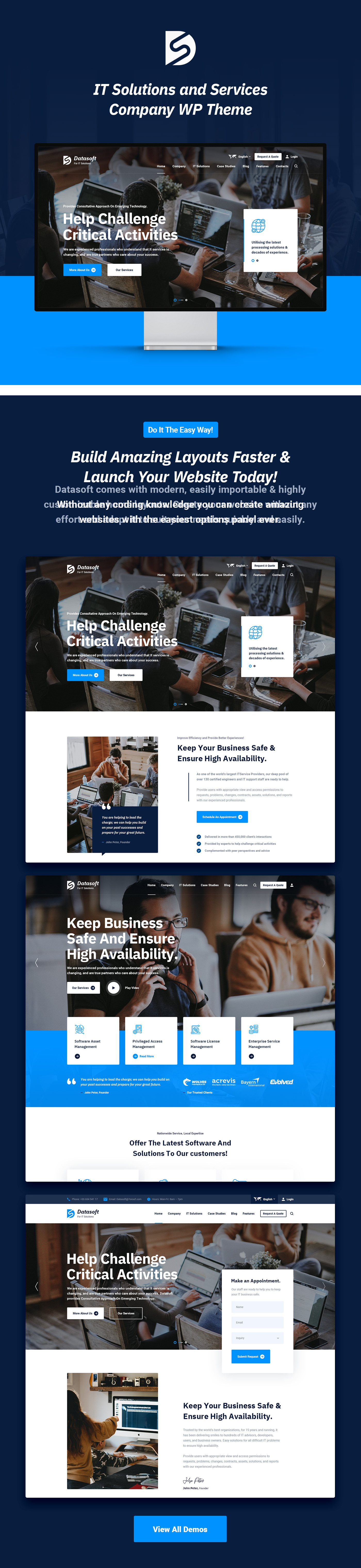 Datasoft - IT Solutions & Services HTML5 Template - 5