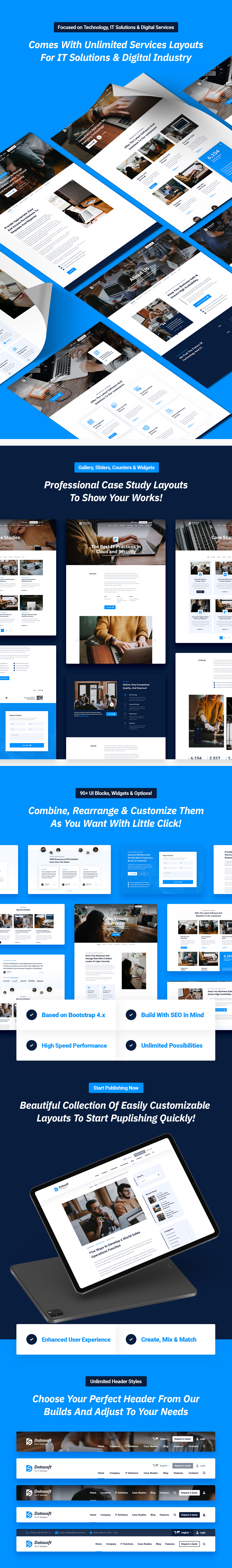 Datasoft - IT Solutions & Services HTML5 Template - 6