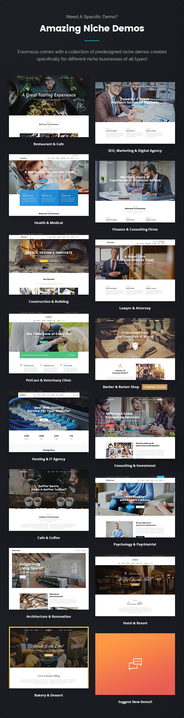Enormous - Responsive Multi-Purpose HTML5 Template - 7
