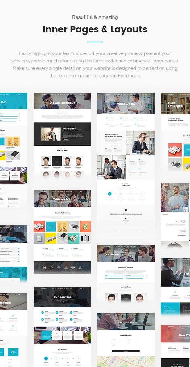 Enormous - Responsive Multi-Purpose HTML5 Template - 11