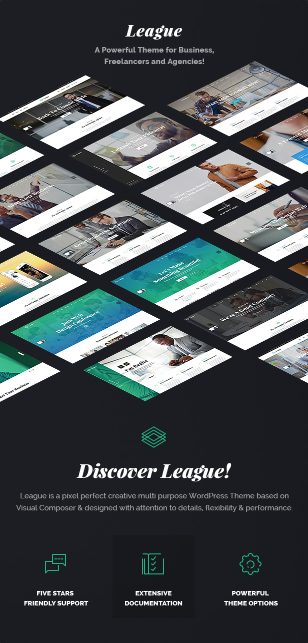 League - A Powerful Theme for Business, Freelancers and Agencies - 4