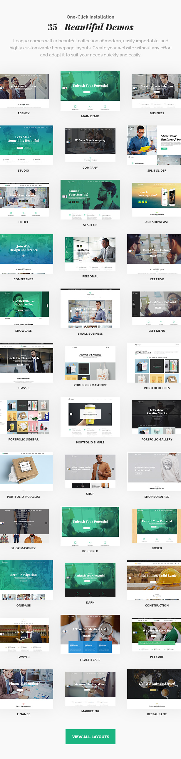 League - A Powerful Theme for Business, Freelancers and Agencies - 5