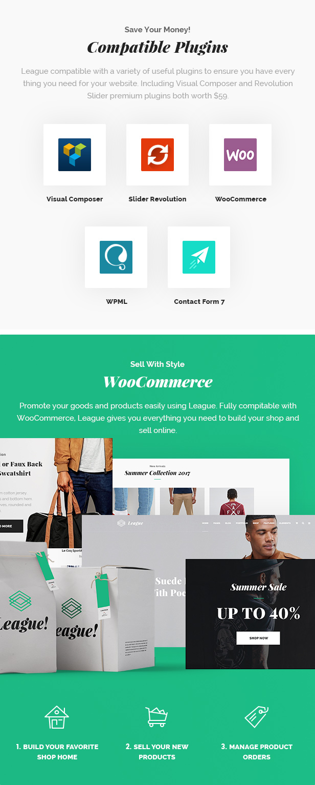 League - A Powerful Theme for Business, Freelancers and Agencies - 7