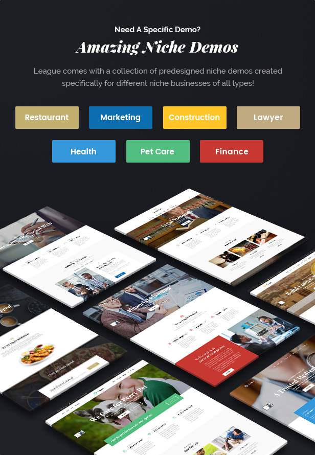 League - A Powerful Theme for Business, Freelancers and Agencies - 6