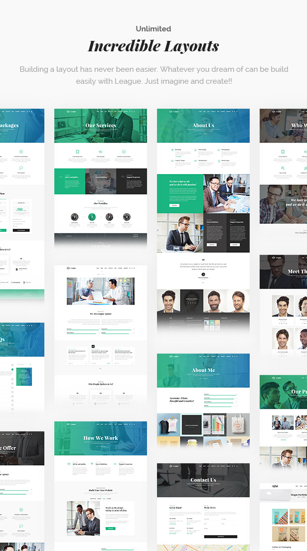League - A Powerful Theme for Business, Freelancers and Agencies - 11