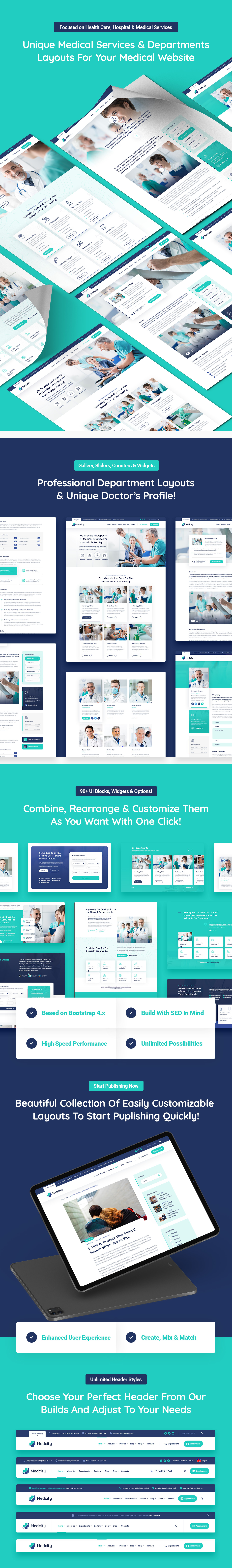 Medcity - Health & Medical HTML5 Template - 6