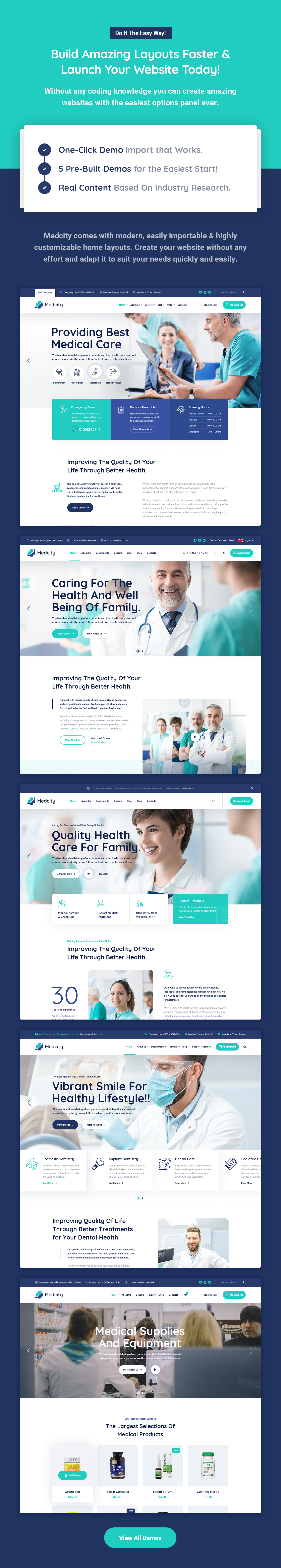 Medcity - Health & Medical WordPress Theme - 6