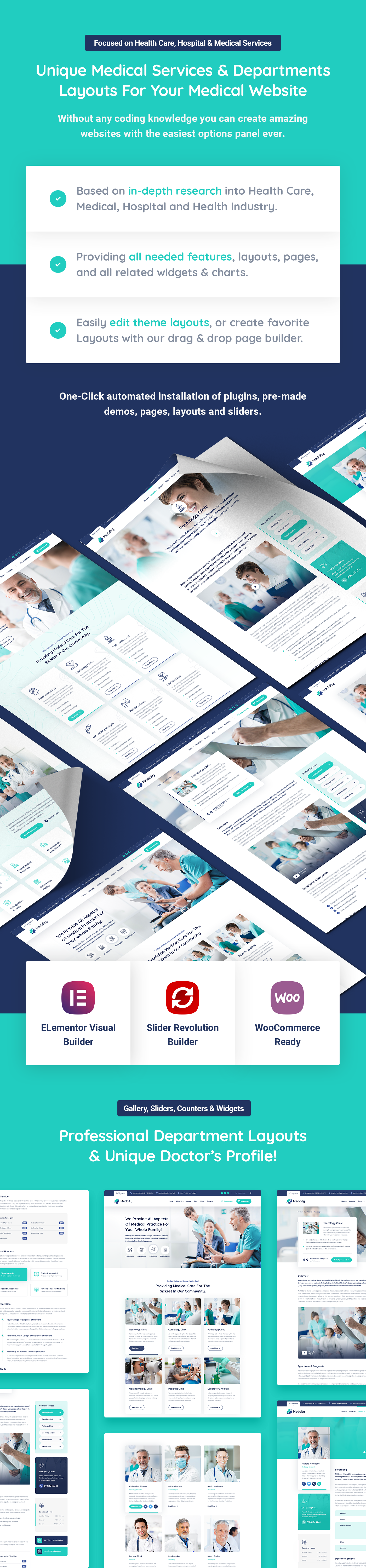 Medcity - Health & Medical WordPress Theme - 7