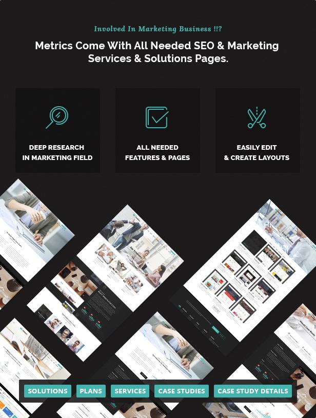 SEO Metrics - SEO, Digital Marketing, Social Media WordPress Theme - 7