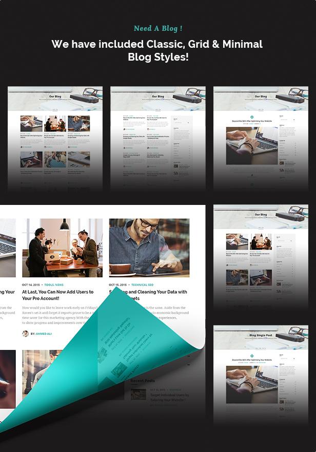 SEO Metrics - SEO, Digital Marketing, Social Media WordPress Theme - 12