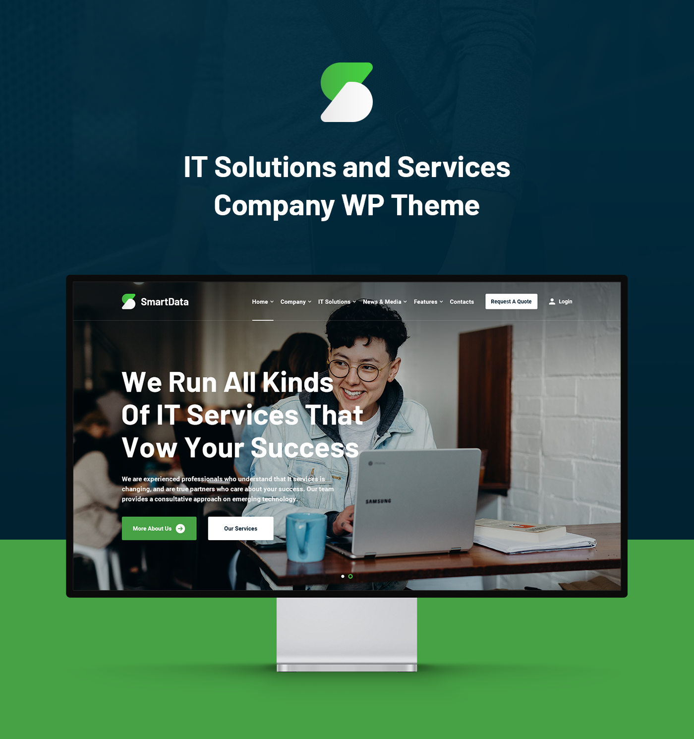 Smartdata - IT Solutions & Services WordPress Theme - 4