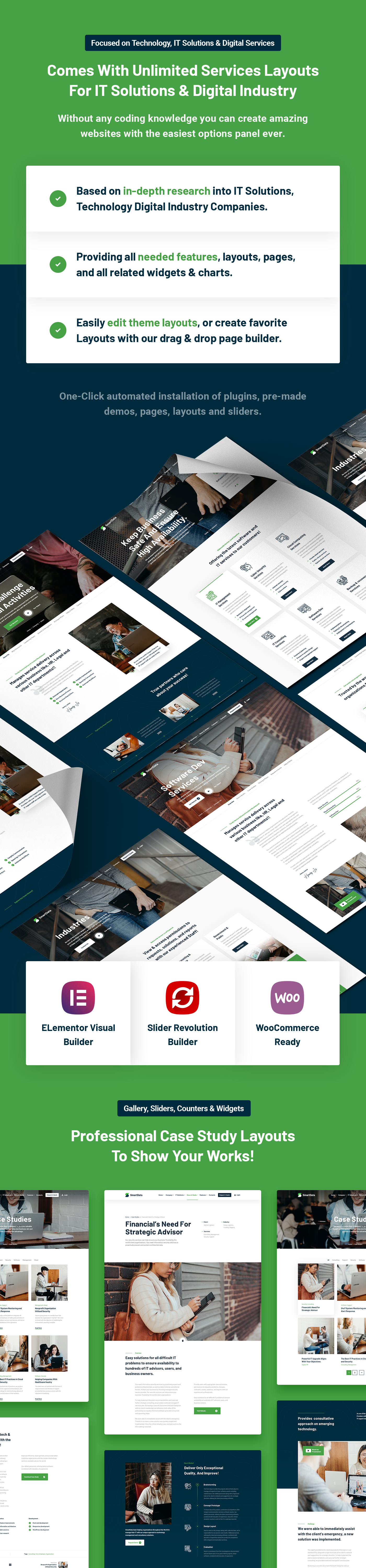 Smartdata - IT Solutions & Services WordPress Theme - 6
