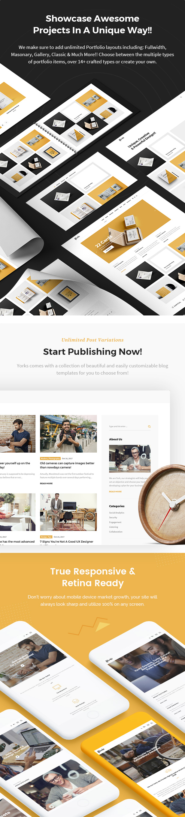 Yorks - Modern HTML5 Template For Businesses & Individuals - 7